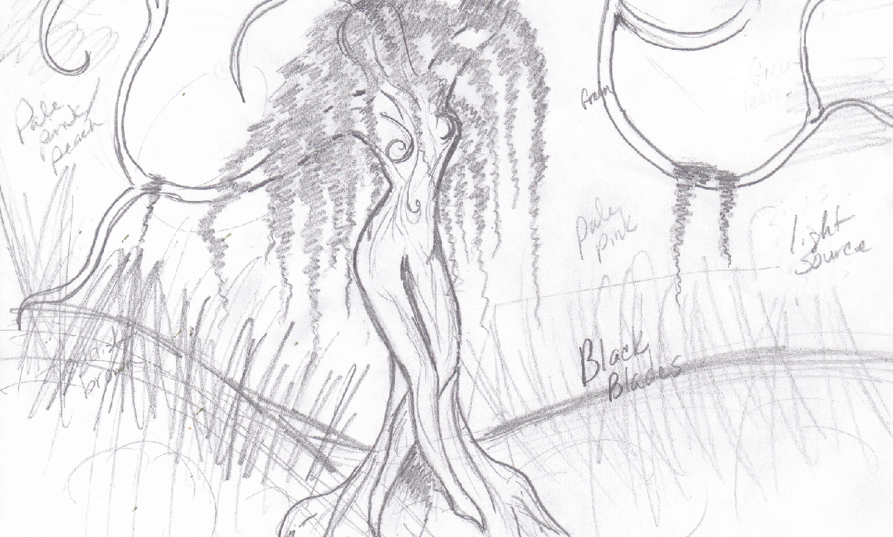 Old Willow Tree Drawing i Still Wanted me in The Tree