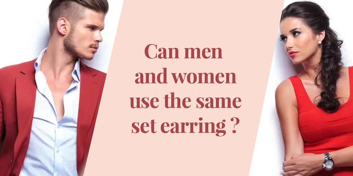 earrings for men & women
