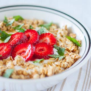 Strawberry Mint Parfait with Honey Recipe