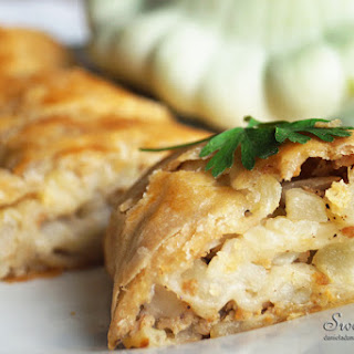 Patty Pan Squash Strudel