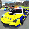 UK Police Car Crime Driving icon