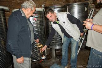 Photo: A legjobb bor a legjobb házigazdának, egyenesen serlegből!