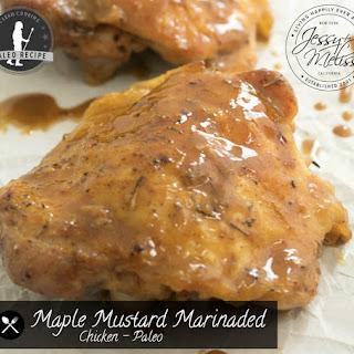 Maple Mustard Marinaded Chicken