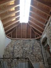 Photo: Charpente escalier XVIIIe