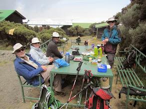 Photo: Saddle  Hut 3500m