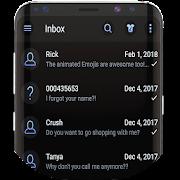 وضع الظلام SMS رسول الموضوع APK