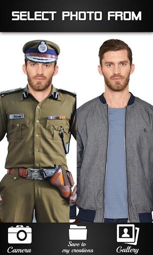 Police Photo Suit - Photo fun