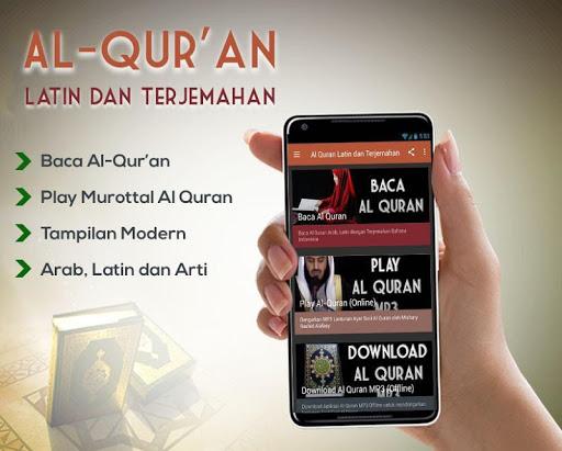 Al Quran Latin dan Terjemahan 1.0 screenshots 1