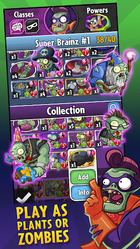 Plants vs. Zombiesu2122 Heroes  screenshots 2