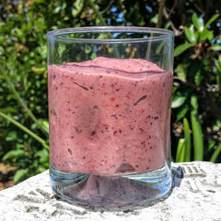 Avocado Berry Smoothie.
