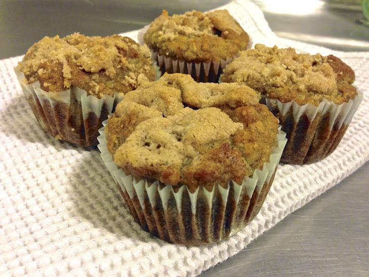 Paleo Banana Crumb Muffin (Grain Free, Gluten Free, Low Carb) Recipe