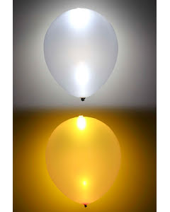 LED ballonger, guld/silver