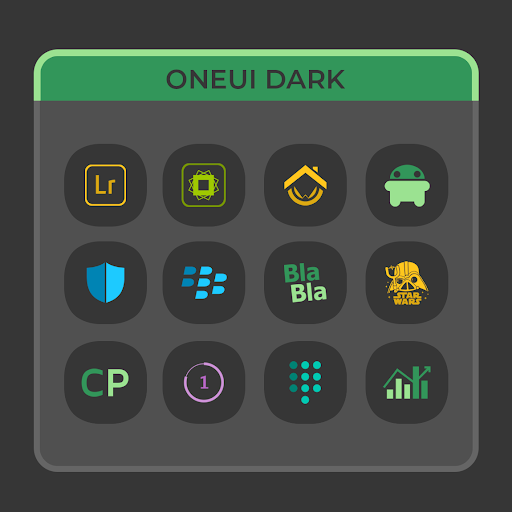 OneUI Dark- Icon Pack : S10 - screenshot