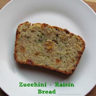 Zucchini - Raisin Bread
