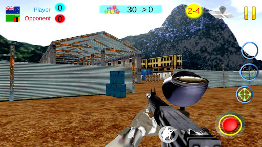 PaintBall Combat  Multiplayer  screenshots 6