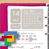 Agenda Pink for Total Launcher