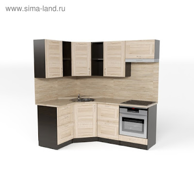 Кухонный гарнитур Томилла оптима 4 1400*2000 мм