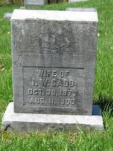 Photo: Gadd, Wife of I.W. Gadd