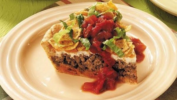 Superspeedway Taco Pie Recipe