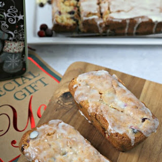 Double Chocolate Cranberry Bread