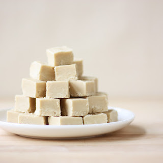 Maple Syrup Fudge (with lactose-free option).