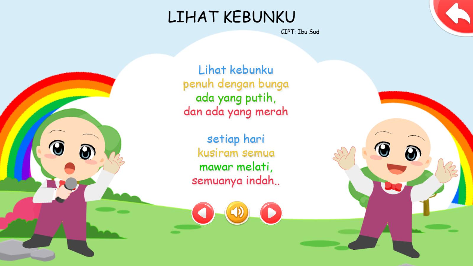 Menyanyi Lagu Anak Bersama Apl Android Di Google Play