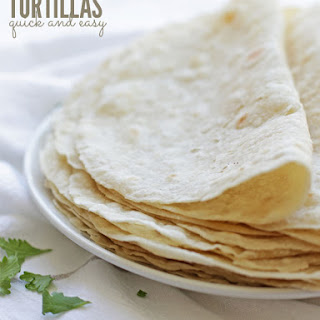 Flour Tortilla With Coconut Oil Recipes