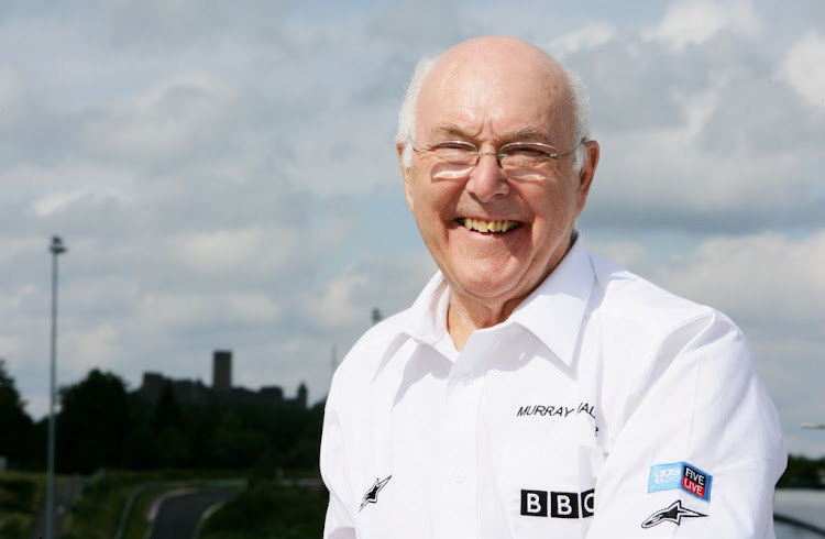 Formula One commentator Murray Walker poses during practice for the European Grand Prix at Nurburgring on July 20, 2007 in Nurburg, Germany.