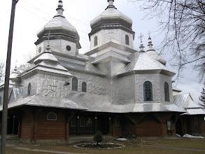 Photo: Зарічанська церква, побудована  1942  року