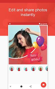 Birthday App - náhled