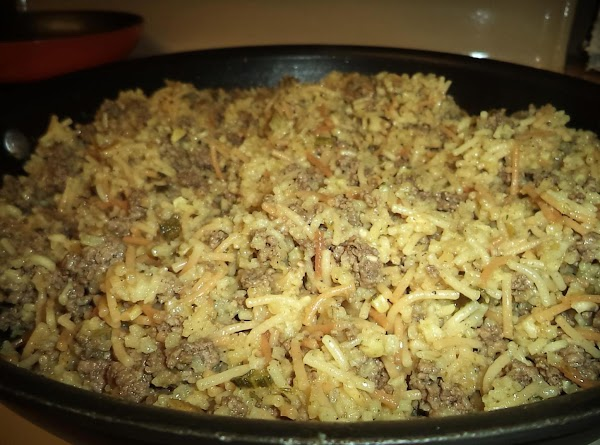 Hamburger Fried Rice Recipe