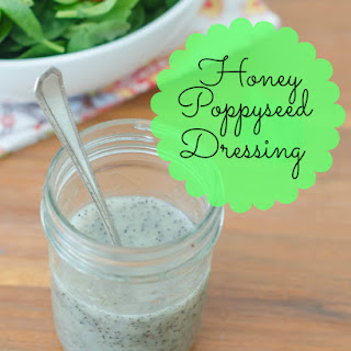 Honey Poppyseed Salad Dressing.