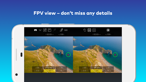 CAVU FPV for DJI GO 4 Drones 1.1.17 screenshots 6