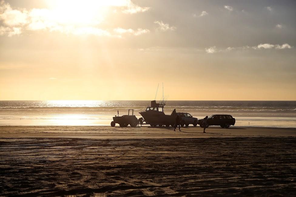 90 Mile Beach, nowozelandzkie wspomnienia
