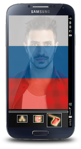 android Russian Flag Profile Picture Screenshot 1