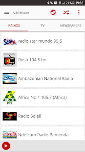 Africa Live radio & news- screenshot thumbnail