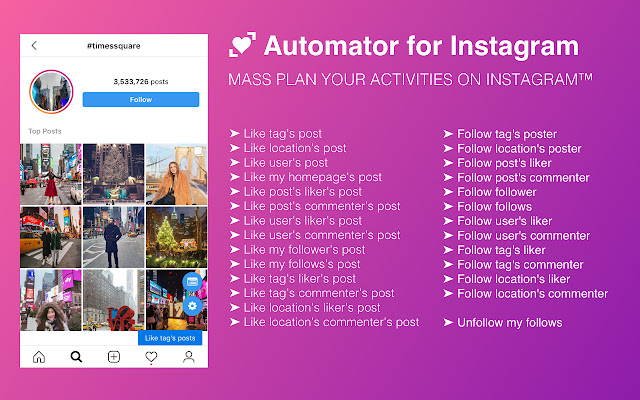 Automator For Instagram Free Followers