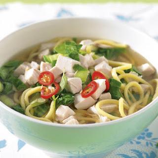 Asian Chicken Noodle Soup Egg Noodles Recipes