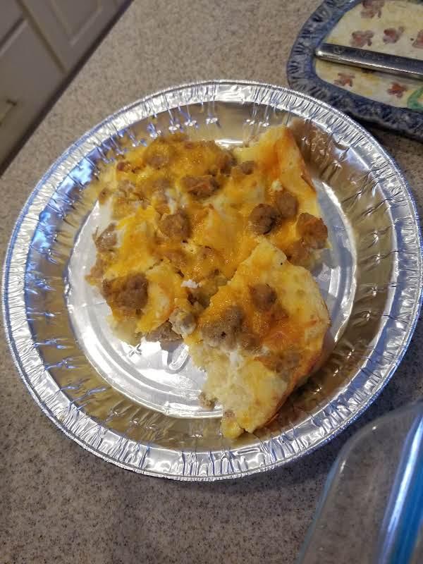 Breakfast Casserole, Sandy's Recipe