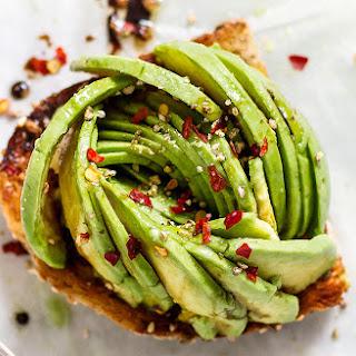 Honey Balsamic Avocado Toast