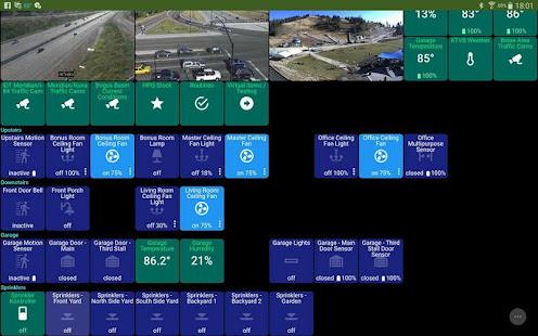 ActionTiles SmartThings custom web dashboard maker apk free
