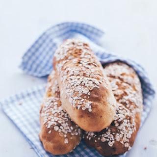 Apricot Oat Spelt Bread Loaves