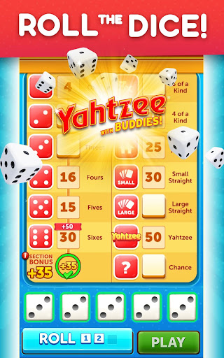 YAHTZEEu00ae With Buddies Dice Game 7.3.5 screenshots 13