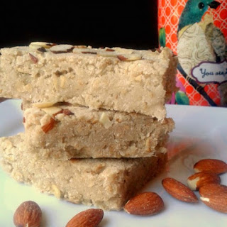 Anchors Aweigh! Coconut Almond Blondies