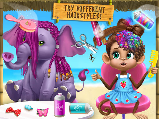 Jungle Animal Hair Salon 2 - Tropical Beauty Salon screenshots 15