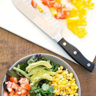 Black Bean Southwest Salad.