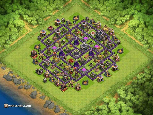 download base maps coc th9 2017 for pc. Black Bedroom Furniture Sets. Home Design Ideas