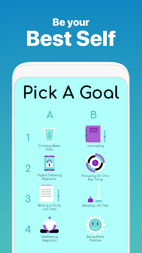 Fabulous: Daily Planner & Self-Care Habit Tracker screenshot 2