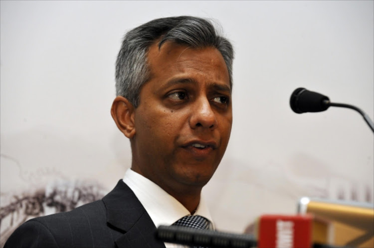 Former Eskom chief financial officer Anoj Singh.