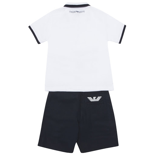 Thumbnail images of Emporio Armani Polo & Short Set